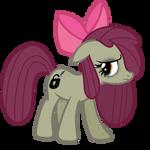 Minkie Bloom (Minkie Pie And Apple Bloom fusion)