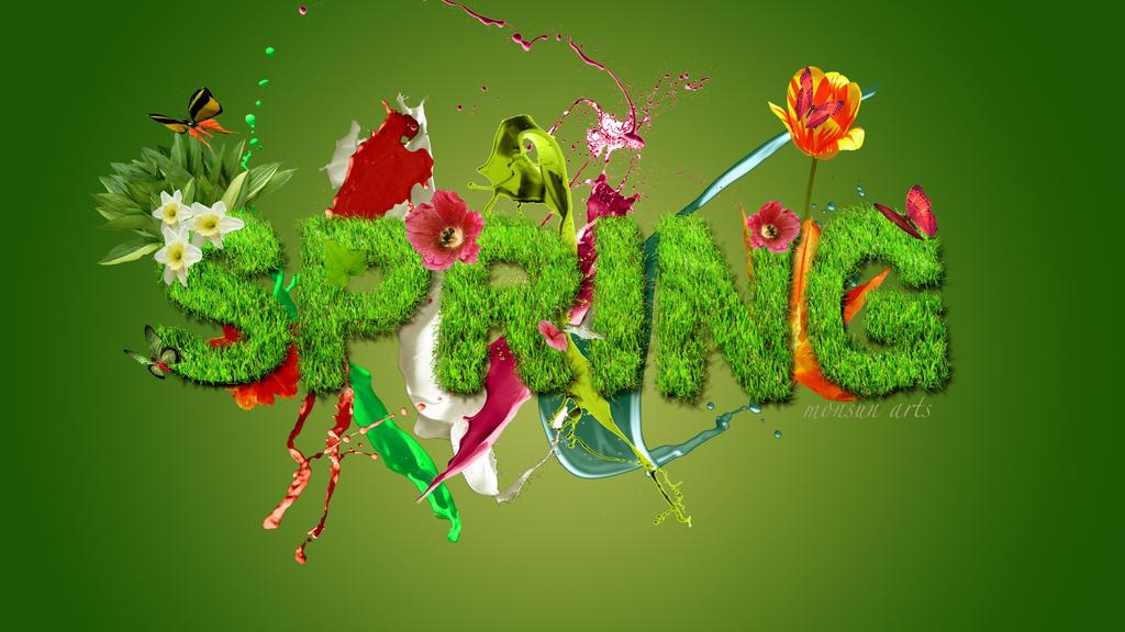 Spring Wallpaper by monsun