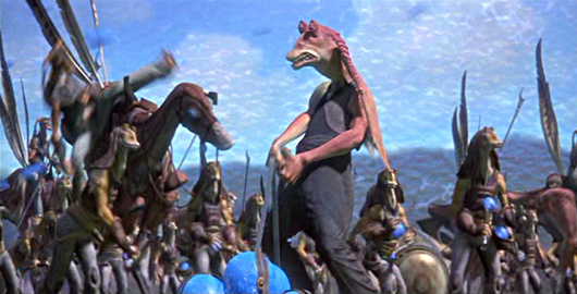 SW1, GG02: Jar Jar Grunt by harroldsheep