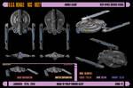 USS Beagle, NCC-6927, final ortho by harroldsheep