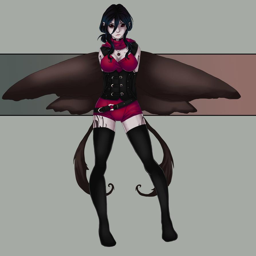 Miss Gloaming 2.0 by Sajiri