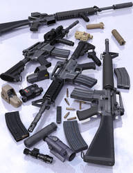Guns, Final images 1/4 by Porsimo