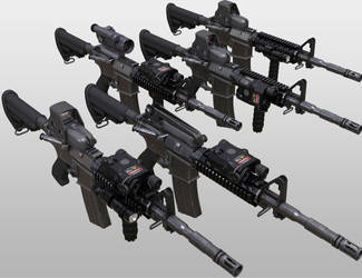 Guns, final images 2/4 by Porsimo