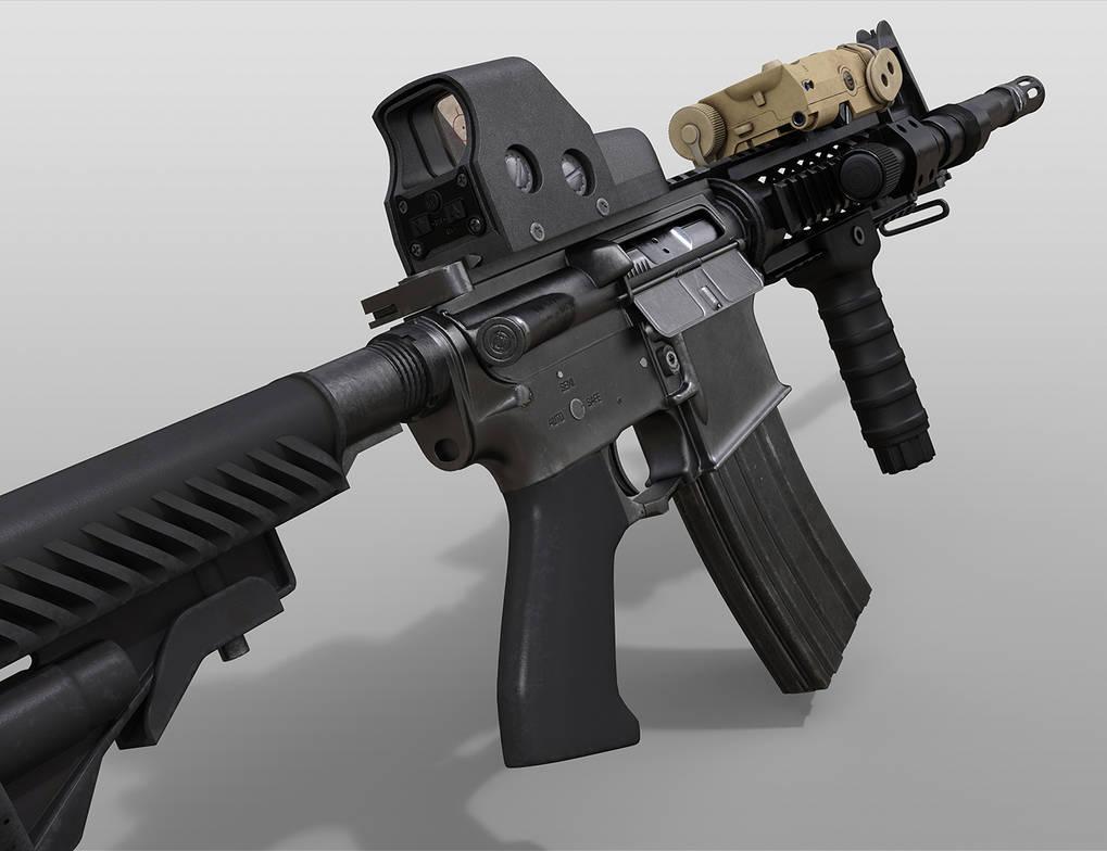 Gun, Final images 4/4 by Porsimo