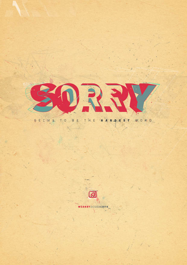 Sorry by Werrny