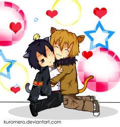 :D18 hug.:: by kuromero