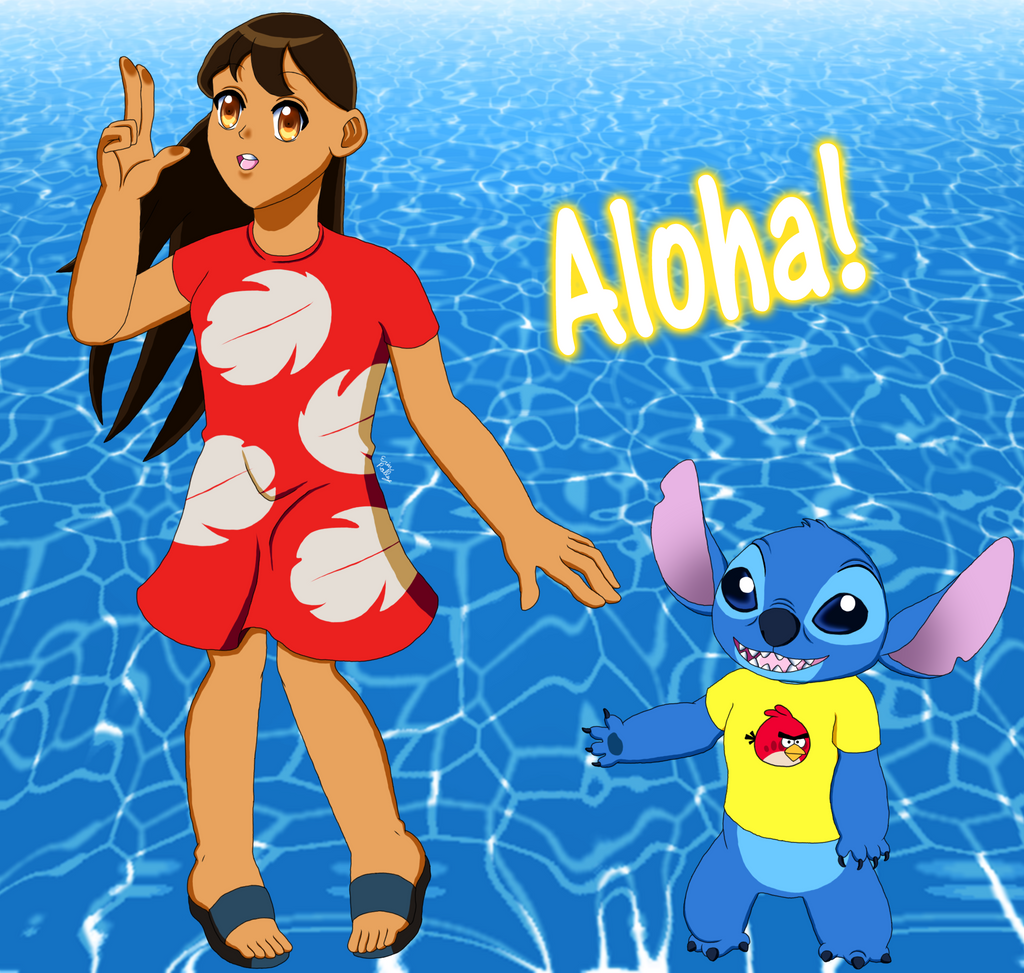 Lilo and Stitch by ErinPrimette on DeviantArt