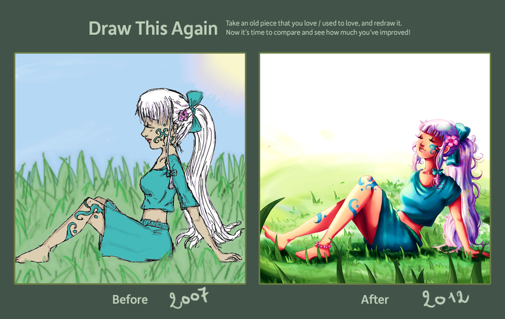 Draw This Again Challenge by Nokiramaila