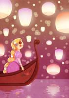 Rapunzel by SophieHei