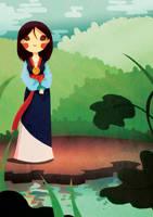 Mulan by SophieHei