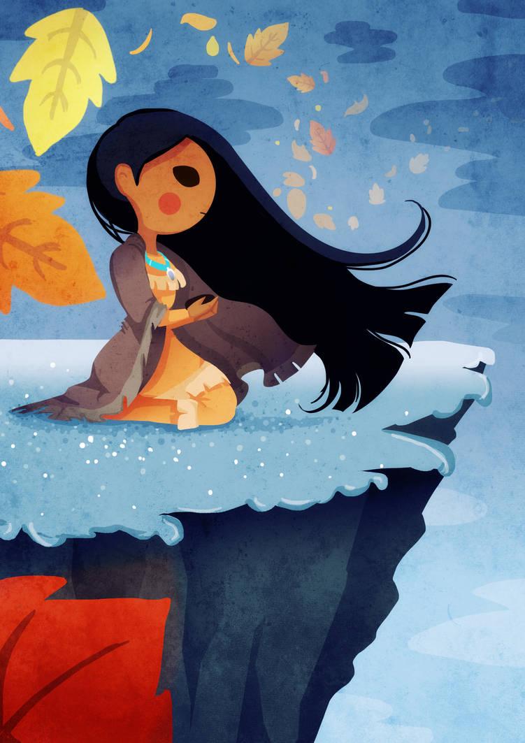 Pocahontas by SophieHei