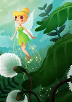Tinker Bell by SophieHei