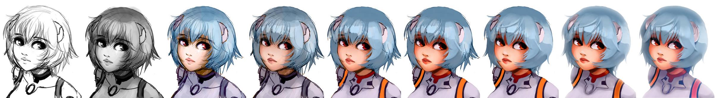 Progress Rei Ayanami
