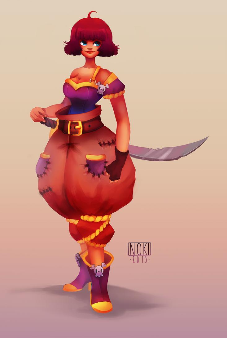 Character Design Contest 2015 : Character design contest pirate by nokiramaila on deviantart