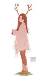 Mori Girl 1 by SophieHei