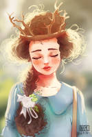 Mori girl by SophieHei
