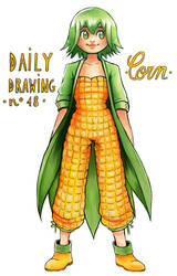 Daily Drawing 18. Corn