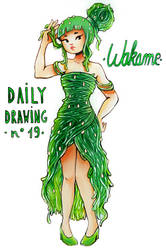 Daily Drawing 19. Wakame