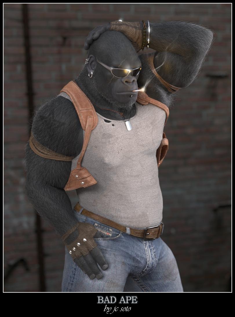 Bad Ape by HellboySoto