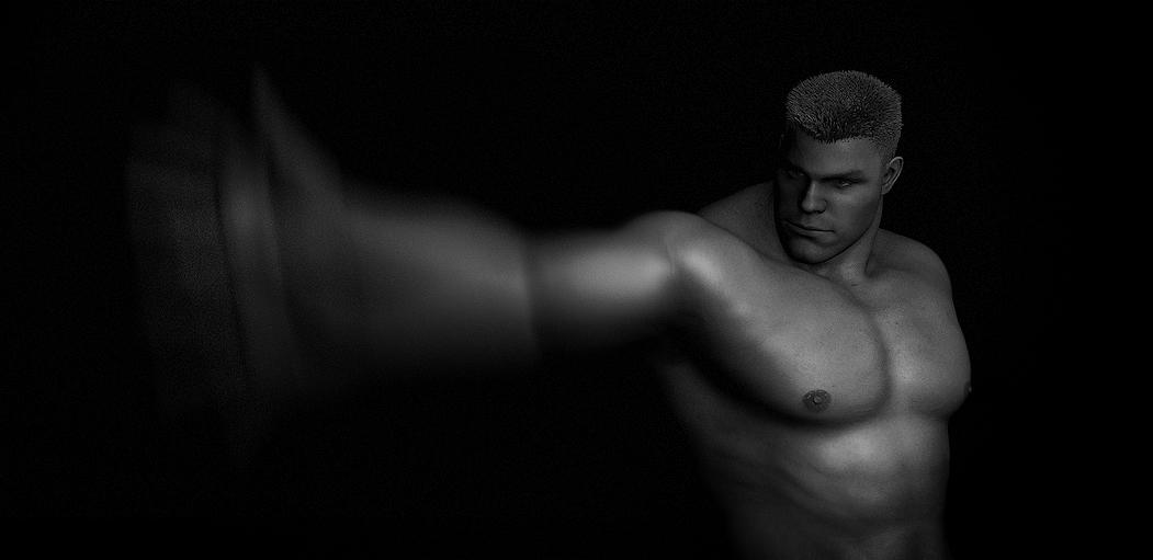 Daz Studio 4.5 Motion Blur