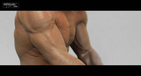Skin Study 01 by HellboySoto