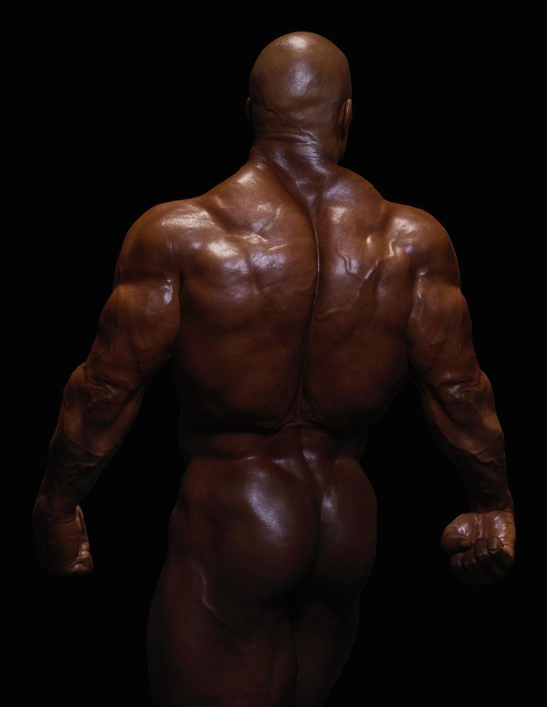 Bodybuilder Test by HellboySoto