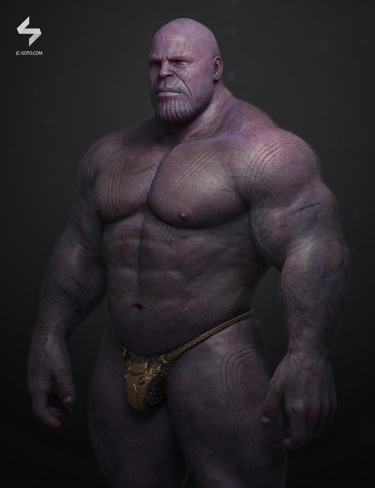 Thanos Portrait Front