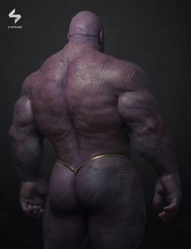 Thanos Portrait Back