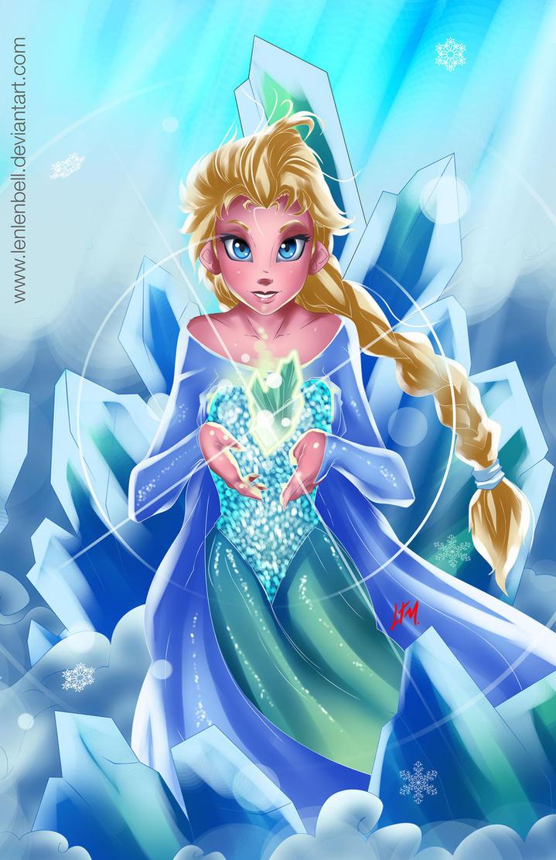 Elsa-Frozen by LenLenbell