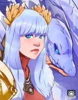 Dragon-Princess by LenLenbell