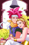 Crono and Marle by LenLenbell