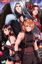 Final Fantasy VII Tribute! by LenLenbell