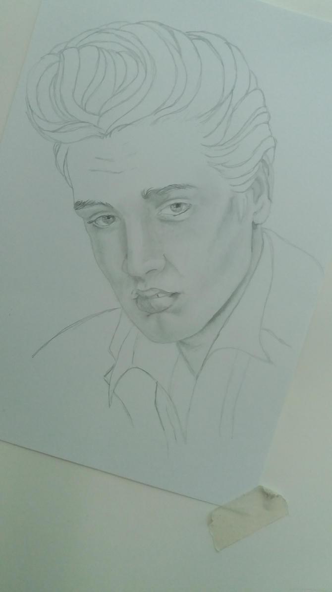 Elvis Presley by cher-o-kee