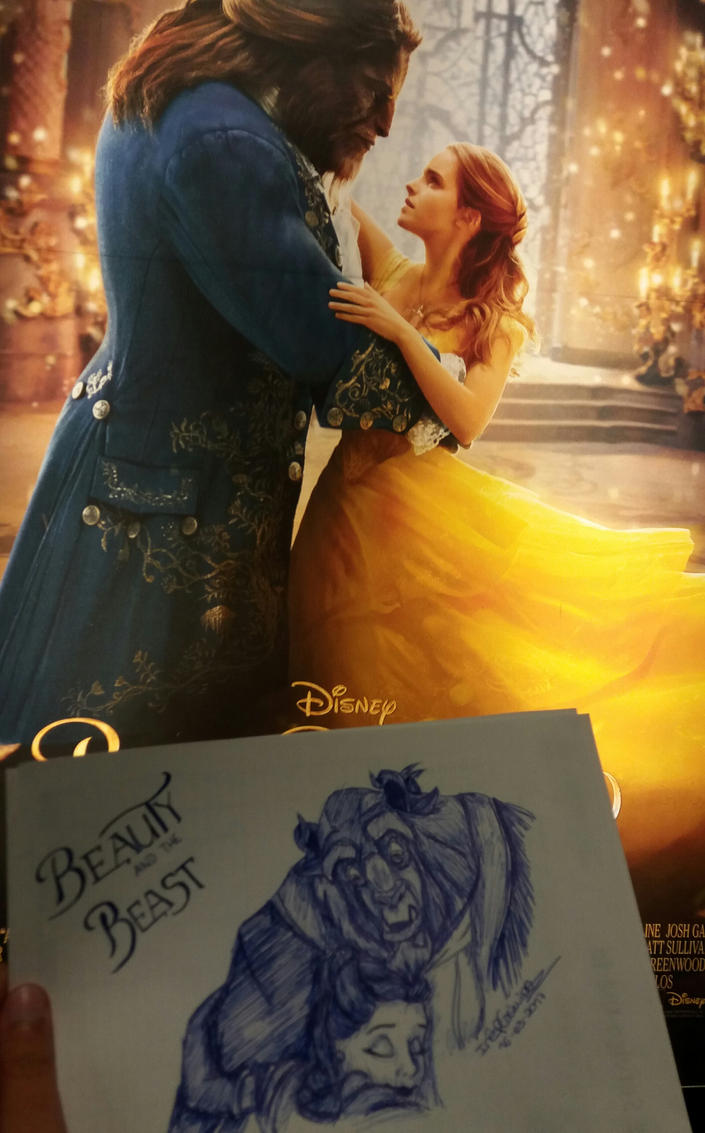 Beauty and the Beast by cher-o-kee