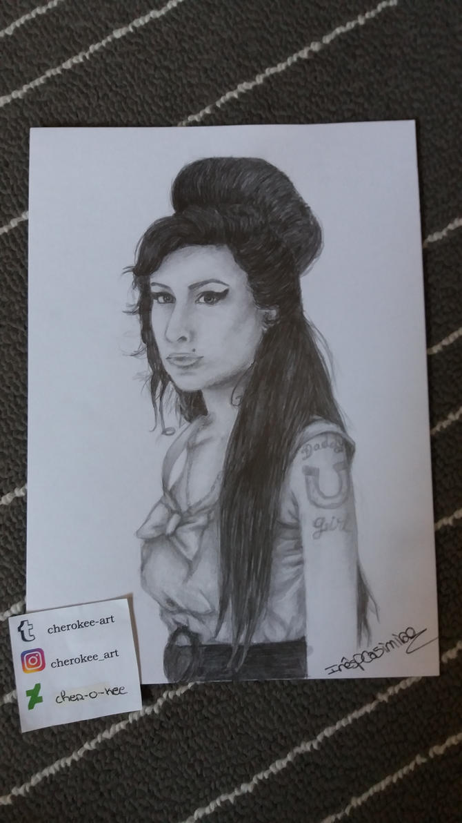 Amy Winehouse by cher-o-kee