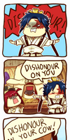 Magi: Dishonour on your cow