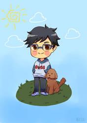 YOI Pets 2/2 - Yuuri Dog