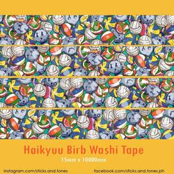 Washi - Haikyuu Birds and Balls