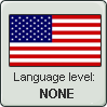 USA Language Level stamp