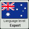 AU EN Language Level stamp4