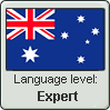 AU EN Language Level stamp4 by Faeth-design