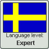 Swedish Language Level stamp4 by Faeth-design