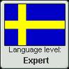 Swedish Language Level stamp4 by Faeth-design