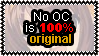 No OC is 100 procent original by Faeth-design