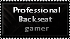 Professional Backseat Gamer by Faeth-design