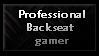 Professional Backseat Gamer by Faeth-design