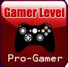 Gamer Progamer Stamp by Faeth-design