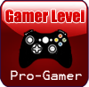 Gamer Progamer Stamp by Faeth-design