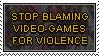 Do Not Blame Videogames