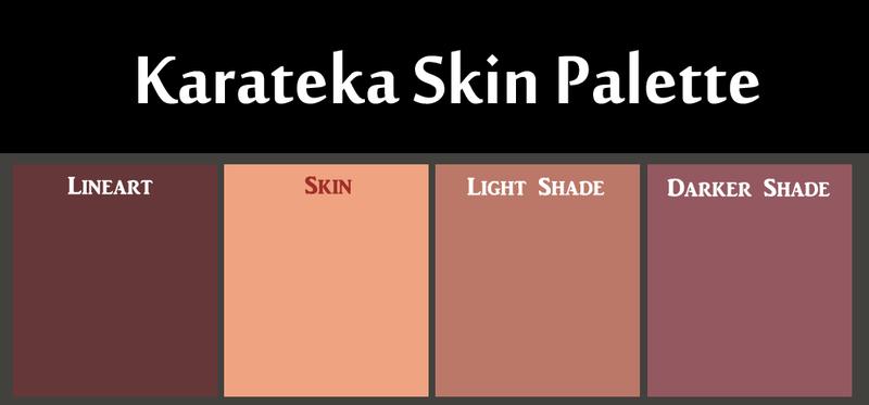 Karateka Skin Palette by Faeth-design